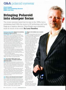 Outsourced marketing company in Marketing week, 30 June 2011
