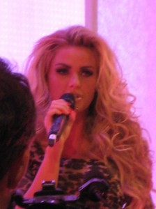 Social media insights from Katie Price at Pure London's fashion event