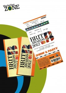 Marketing Zone at the BRIT Awards 2012