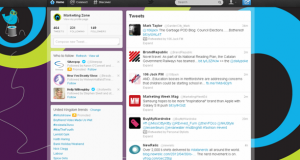 Bespoke Twitter backgrounds for just £50+VAT from Marketing agency marketing zone