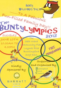 Marketing agency Hertfordshire Supporting the local community's Buntylympics