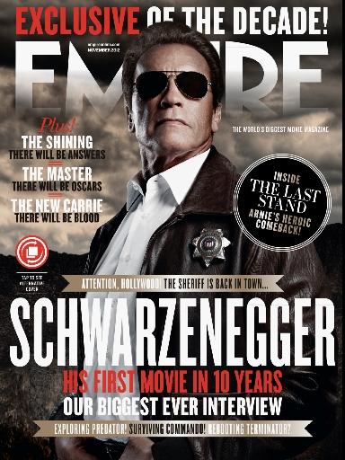 Arnold Schwarzenegger in Polaroid sunglasses