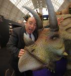 Megasaurus at Spring Fair