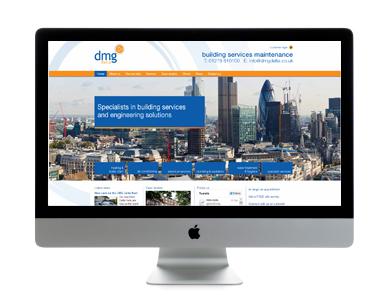 DMG Delta website