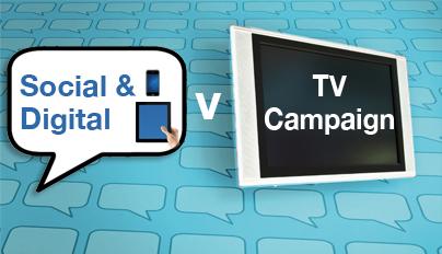 Social v TV