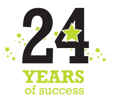 24 years successful marketing company