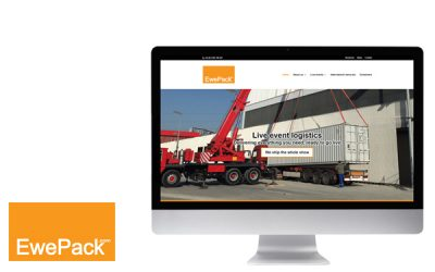 New website for Ewepack logistics