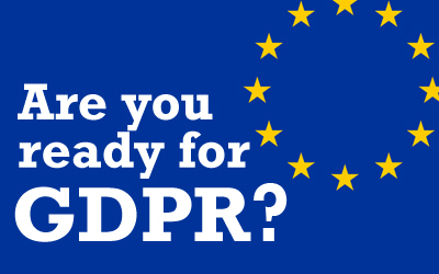 Ready for GDPR deadline 25 May?