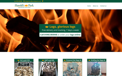 Firewood sells out with new website