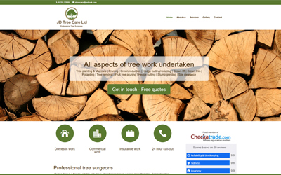 New website integrated with Checkatrade