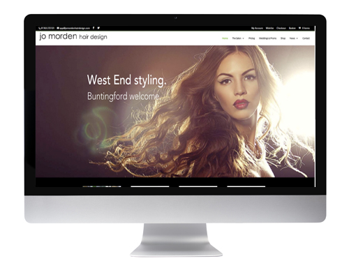 Website design Buntingford - Jo Morden