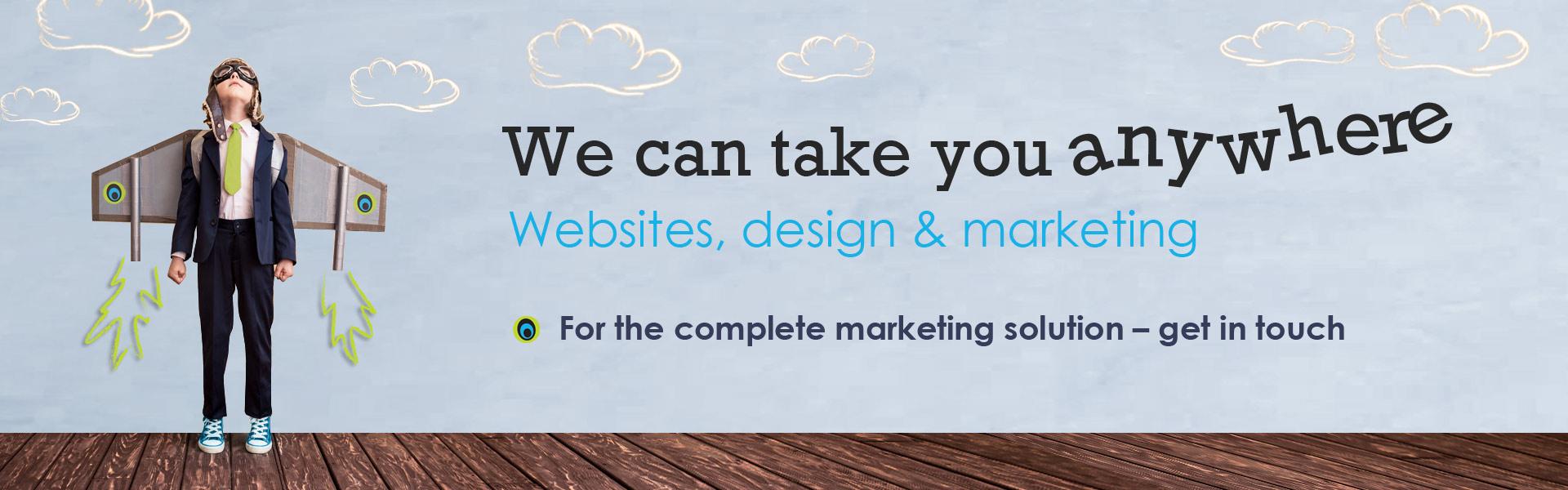 Marketing Zone: Websites, design & marketing