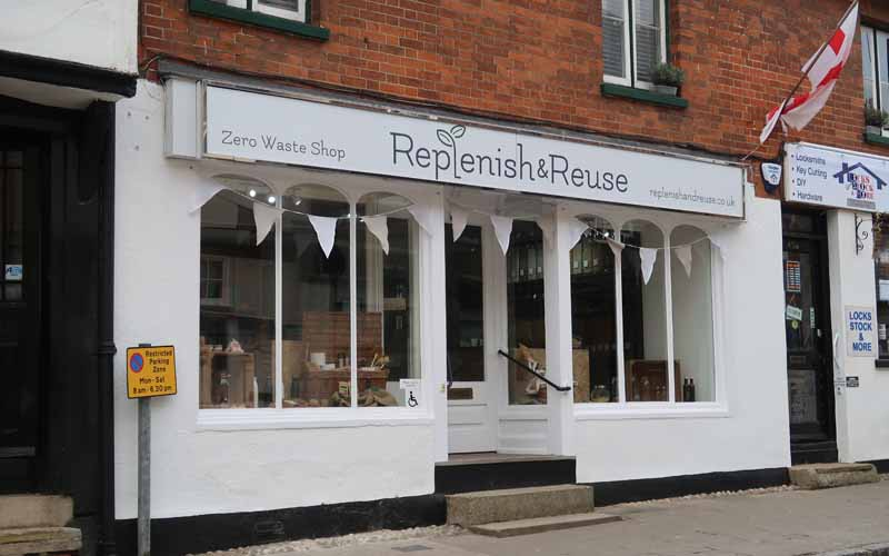 Replenish and Reuse Buntingford - Zero Waste Shop