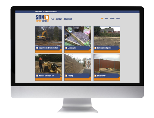 Website design Buntingford - SDN Property Services