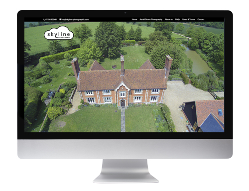 Website design Buntingford - Skyline Photographic