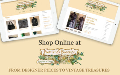 Ecommerce website for Flutterby's Boutique