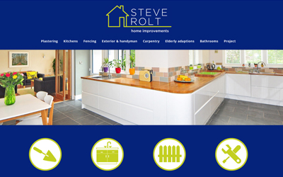 New brand and website for Steve Rolt