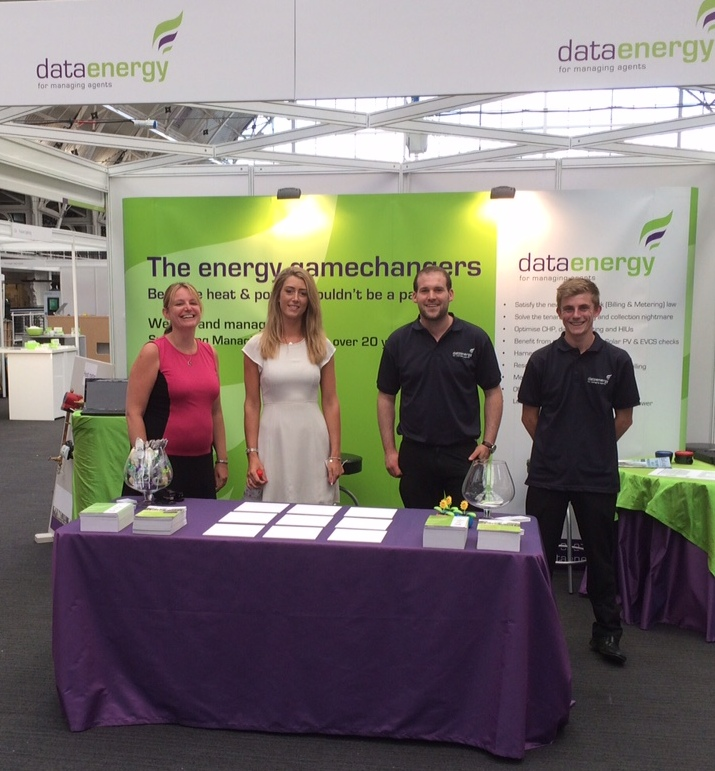 Marketing Exhibition Stand Out : Stand out exhibition for data energy marketing zone
