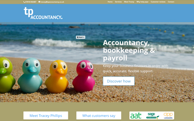 New website for Buntingford accountancy business